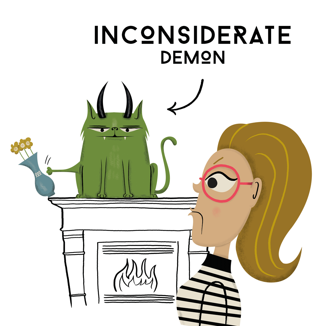 Inconsiderate Demon from the book Exercise Your Demons